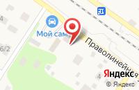 Схема проезда до компании Зодиак в Ильинском