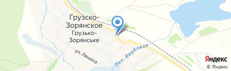 Ассорти продовольственный магазин на карте Грузско-Зорянского