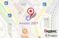 Схема проезда до компании АЗС в Жуковском