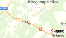 Гостиницы города Царево на карте