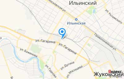Местоположение на карте пункта техосмотра по адресу Московская обл, г Жуковский, ул Королева, д 5
