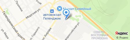 СМУ-55 на карте Геленджика
