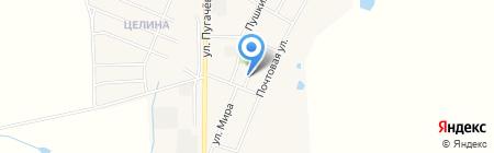 Магазин продуктов на карте Брусянского
