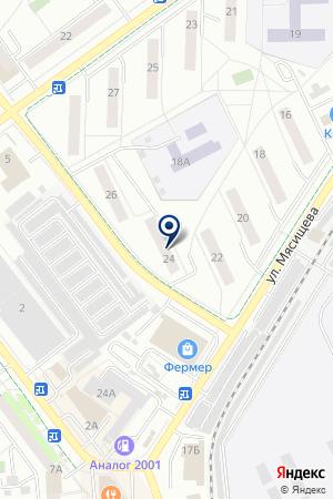 АВТОМОЙКА АВТОБЛЕСК на карте Жуковского