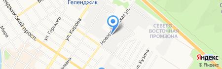 Krabov.ru на карте Геленджика