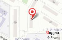 Схема проезда до компании Хеджер в Заворово