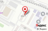 Схема проезда до компании Ремтехлит в Жуковском