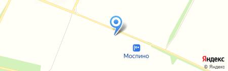 Моспино на карте Бирюков