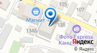 Компания Vizual на карте