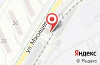 Схема проезда до компании Сва-Авто в Жуковском