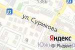 Схема проезда до компании Стимул в Геленджике