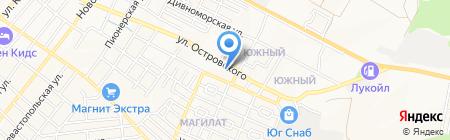 Оконно-роллетный центр на карте Геленджика