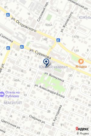 Ассорти на карте Геленджика