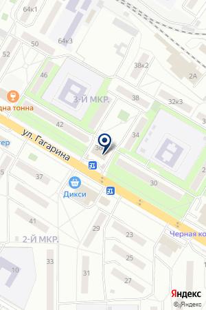 ПАРИКМАХЕРСКАЯ ЭДЕМ на карте Жуковского