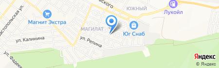 Невская пристань на карте Геленджика