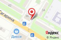 Схема проезда до компании D`версия в Жуковском