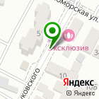 Местоположение компании Автомагазин на Жуковского
