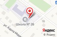 Схема проезда до компании Ильинская средняя общеобразовательная школа №26 в Ильинском