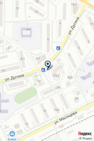 ДЕТСКАЯ ПОЛИКЛИНИКА № 2 ЖУКОВСКАЯ ЦЕНТРАЛЬНАЯ БОЛЬНИЦА на карте Жуковского