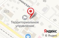 Схема проезда до компании Ильинская управляющая компания в Ильинском