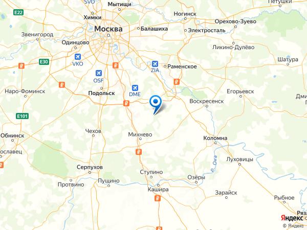 деревня Софьино на карте