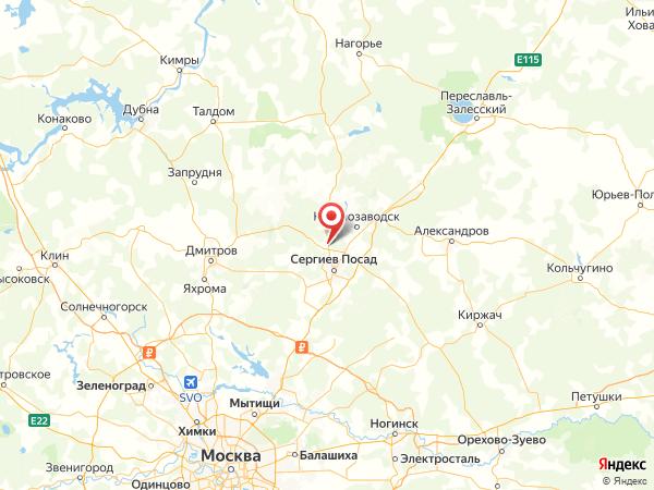 село Мишутино на карте