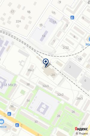 ОТДЕЛ ВНЕВЕДОМСТВЕННОЙ ОХРАНЫ на карте Жуковского