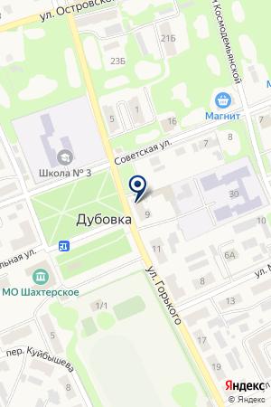 Сеть аптек на карте Дубовки