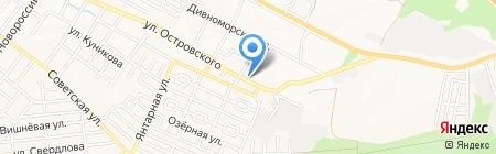 Ремонт часов на ул. Островского на карте Геленджика