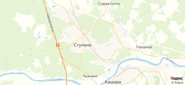 Ступино - объекты на карте