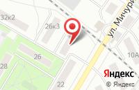 Схема проезда до компании Ювента в Заворово