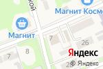 Схема проезда до компании Магазин продуктов в Дубовке