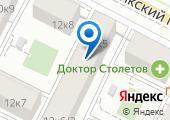 Жуковский на карте