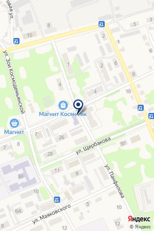 Детская школа искусств на карте Дубовки
