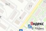 Схема проезда до компании No frame в Жуковском