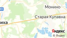 Отели города Новая Купавна на карте
