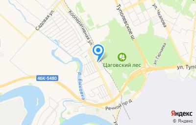 Местоположение на карте пункта техосмотра по адресу Московская обл, г Жуковский, ул Кооперативная, стр 14