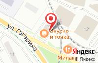 Схема проезда до компании McDonald`s в Жуковском