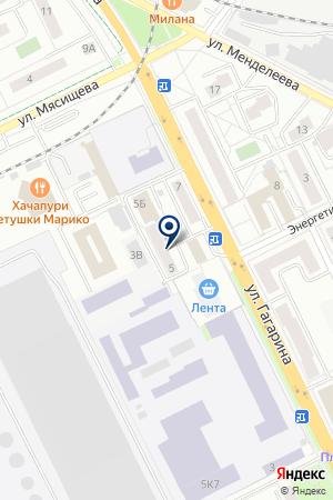 ИЗДАТЕЛЬСТВО ПЕТИТ на карте Жуковского