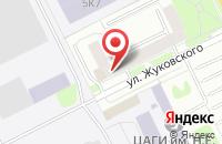 Схема проезда до компании Сахар в Жуковском