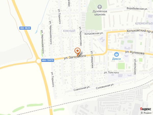 Остановка Южный посёлок (Московская область)