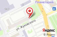 Схема проезда до компании Топливо-Заправочный Комплекс Колибри в Жуковском