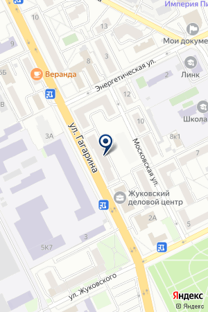 АДВОКАТСКОЕ БЮРО ПРАВОВЕД на карте Жуковского