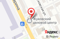 Схема проезда до компании Справедливая Россия в Жуковском