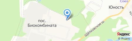 Детский сад №67 на карте Биокомбината