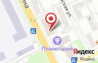 Схема проезда до компании Service-climate в Жуковском