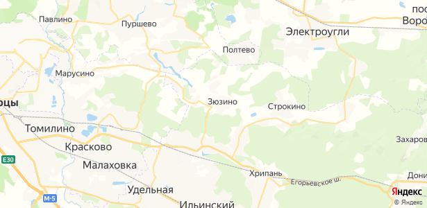 Совхоза Красковский на карте