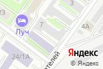 Схема проезда до компании Компания по подбору автоэмали в Жуковском
