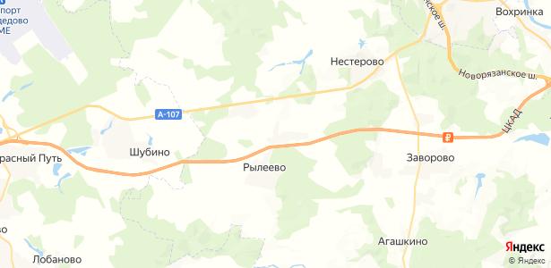 Ганусово на карте