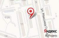 Схема проезда до компании Красная Звезда в Имени Свердловой